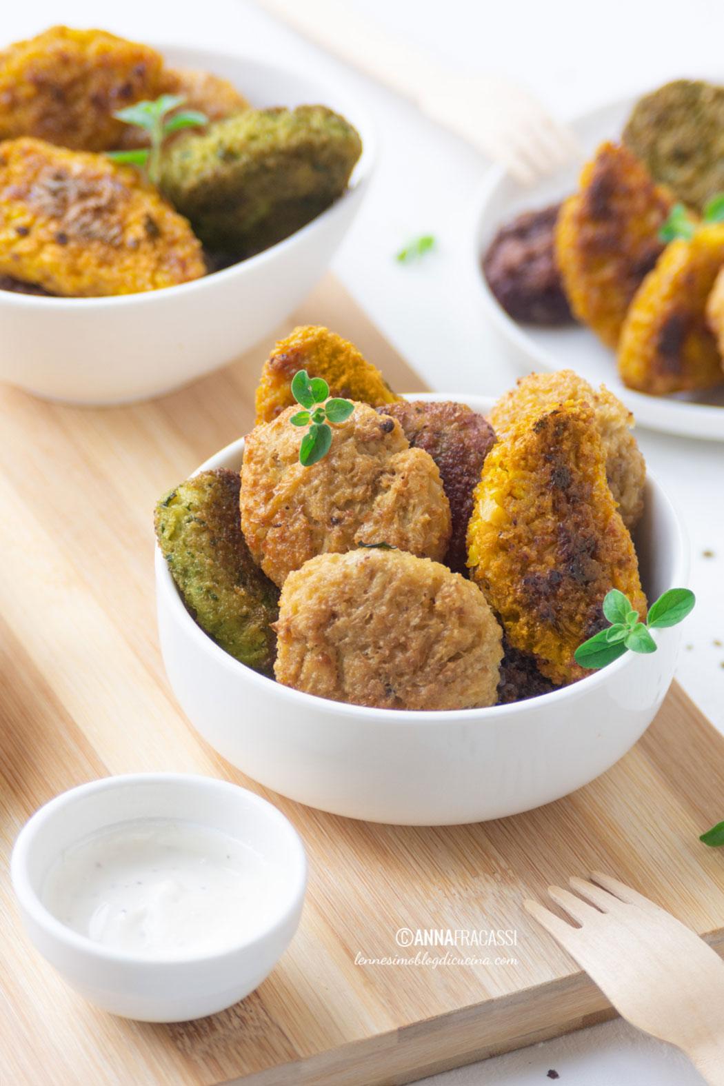Crocchette di cavolfiore: nuggets vegetariani facili e veloci