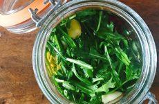 Fermentazione casalinga: Kimchi di rucola