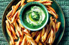 Ricetta Torciglioni mediterranei con salsa di catalogna