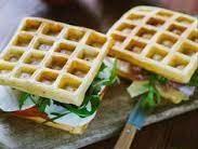 Waffle salati al tricolore: la ricetta
